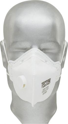 Feinstaub-Faltmaske FFP2 mit Ausatmungsventil,Tector®