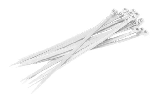 Kabelbinder WEISS 2.5mmx100mm 100Stk.