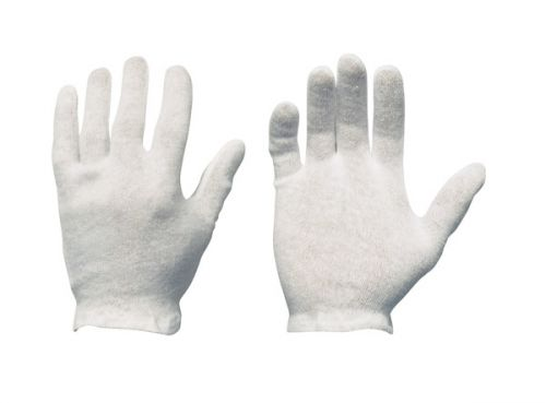 AUSLAUFARTIKEL!! Trikot-Handschuhe aus Baumwolle, atmungsaktiv, Model NANKING