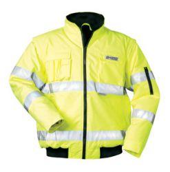 gelbe Warnschutz-Pilotenjacke ROLAND, von SAFESTYLE®