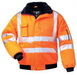 orange Warnschutz-Pilotenjacke GUSTAV, von elysee®
