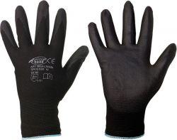PU-beschichtete Feinstrick-Handschuhe LINGBI, Nylon, Premiumqualität