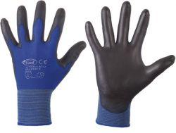 PU-beschichtete Feinstrick-Handschuhe LINTAO, Nylon, Premiumqualität