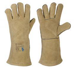 Rindspaltleder-Handschuhe WELDER-PROFI 2
