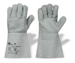 Rindspaltleder-Handschuhe S 53