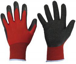 Latexstrick-Handschuhe BLACK GRIP, Feinstrick, Profi-Qualität
