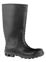 S5 Stiefel WORKMASTER Schaft schwarz, Sohle schwarz, PVC/Nitril