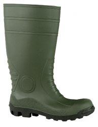 S5 Stiefel COUNTRYMASTER Schaft grün, Sohle schwarz, PVC/Nitril