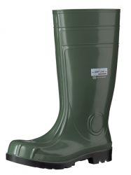 S5 REACH-KONFORME Stiefel CAMEO, grün/schwarz, PVC/Nitril
