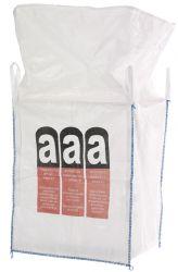 Big Bag 90x90x110 cm für asbesthaltige Abfälle mit Einfüllschürz