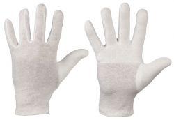 AUSLAUFARTIKEL!! Trikot-Handschuhe aus Baumwolle, Finger-Daumen gedoppelt, Modell DAZHOU
