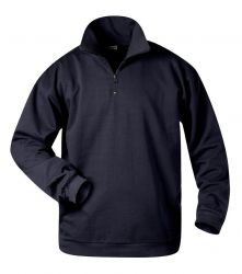 Sweat-Shirt mit Troyer-Kragen GERD, Nur 2x Gr.XL lieferbar