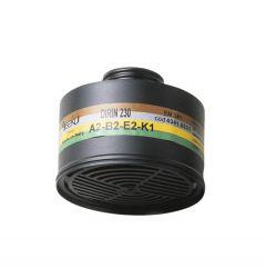 Mehrbereichsfilter A2B2E2K2 passend zu den Masken Artikel Nr.. FM-4239, -4240, -42391, -42401