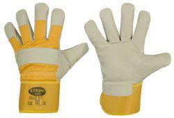 Schweinsvolleder-Handschuhe RAM, Premium-Qualität, Größe 10,5