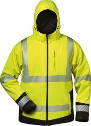 Warnschutz-Winter Softshell Jacke mit Kapuze MELVIN