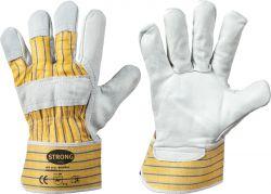 Rindvollleder-Handschuhe BOMBAY, Profiqualität, von STRONGHAND®