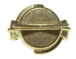 Blindkupplung / 40mm / Messing