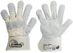 Rindspaltleder-Handschuhe MAMBA