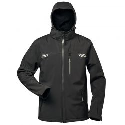elysee® Softshell Jacken mit Fell PLUTOS