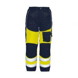 Warnschutz-Bundhose gelb/schwarz