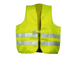 Warnschutzwesten nach EN 20471 Polyester neongelb