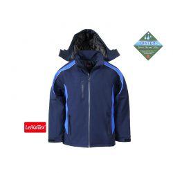 """Softshell-Winterjacke """"Saphir"""" marineblau/königsblau"""