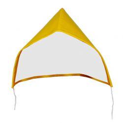 PU-Kapuze gelb