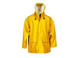 Regen-Jacke gelb