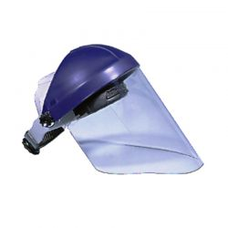 Gesichtsschutz-Kopfhalterung inkl. Scheibe