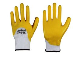 Nitril gelb Strickbund