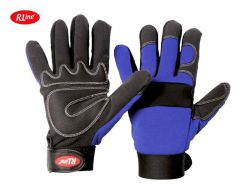 Mec Blue -Rline Mechanics Handschuh
