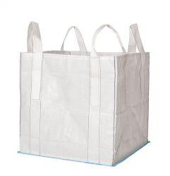 Big Bag 90x90x90 cm, geschlossener Boden, SWL 1.500 kg mit Cross-Corner Schlaufen
