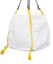 Big Bag 90x90x90 cm, zwei Zusatzschlaufen am Boden breite Schlaufen