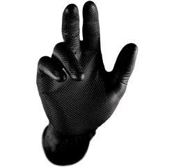 GRIP SCHWARZ Handschuhe Nitril Stronghand