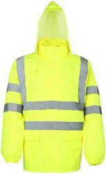 Warnschutz-Regenjacke / Neongelb