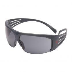 Schutzbrille / Secure Fit 600 / Grauer Rahmen / Grau