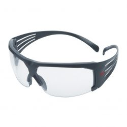 Schutzbrille / Secure Fit 600 / Grauer Rahmen / klar