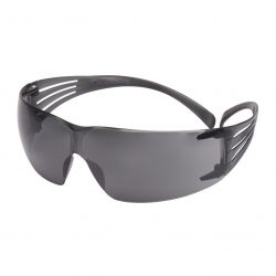 Schutzbrille / Secure Fit 200 / Grauer Rahmen / grau