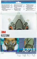 Gase & Dämpfe Maskenset / 6223 / 3M