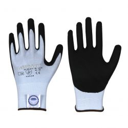 Schnittschutz Handschuh / Nitril / Stufe B