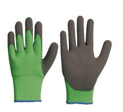 Thermo-Polyacryl-Winterhandschuh mit gesandeter Latex-Beschichtung