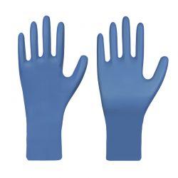Nitril-Einmalschutzhandschuh / PREMIUM / blau / puderfrei / Box à 50 Stück / TYP A