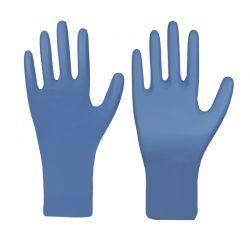 Nitril-Einmalschutzhandschuh / PREMIUM PLUS / blau / puderfrei / Box à 50 Stück / TYP A - Größe: S