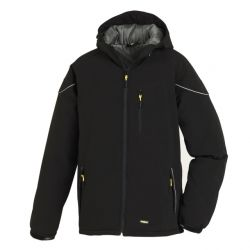Winter-Softshell-Jacke VAIL / texxor / schwarz