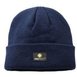 Strick-Mütze / 4Protect / marine