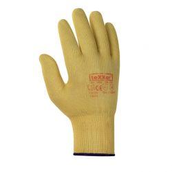 Feinstrickhandschuh ARAMID-Faser / texxor / gold-gelb