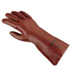 PVC-Handschuh / texxor / rotbraun / 35cm Länge