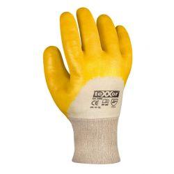 Nitril-Handschuhe STRICKBUND / texxor / Gelb / 2356