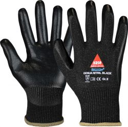 Montagehandschuh GENUA Nitril Black / HaseSafety / 508504