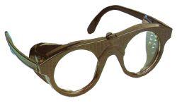 Standardbrille Schweißer Modell Nr. 879/SSG grün